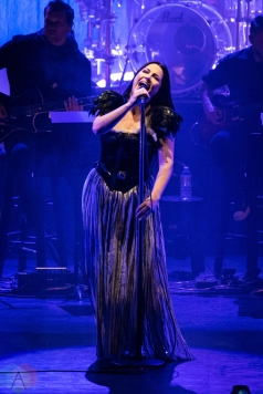 TORONTO, ON - DECEMBER 8: Amy Lee of Evanescence performs at Sony Centre in Toronto on December 8, 2017. (Photo: Jaime Espinoza/Aesthetic Magazine)