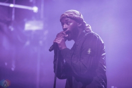 TORONTO, ON - Goldlink performs at Mod Club in Toronto on December 29, 2017. (Photo: Anton Mak/Aesthetic Magazine)