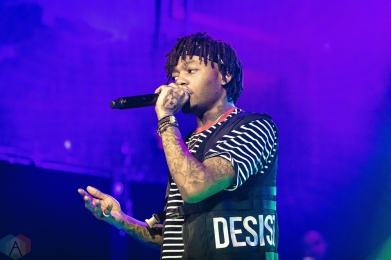 TORONTO, ON - J.I.D performs at Mod Club in Toronto on December 29, 2017. (Photo: Anton Mak/Aesthetic Magazine)