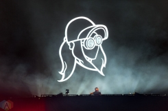 VANCOUVER, BC - Rezz performs at BC Place in Vancouver during the Contact Winter Music Festival on December 26, 2017. (Photo: Ryan Deasley/Aesthetic Magazine)