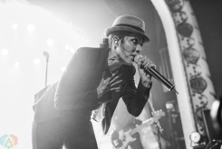 TORONTO, ON - DECEMBER 2: The Interrupters perform at The Opera House in Toronto on December 2, 2017. (Photo: Joanna Glezakos/Aesthetic Magazine)