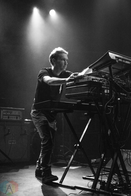 TORONTO, ON - DECEMBER 5: Xander Harris performs at Danforth Music Hall in Toronto on December 5, 2017. (Photo: Morgan Hotston/Aesthetic Magazine)