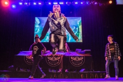 TORONTO, ON - JANUARY 19 - A Tribe Called Red performs at Danforth Music Hall in Toronto on January 19, 2018. (Photo: Joanna Glezakos/Aesthetic Magazine)