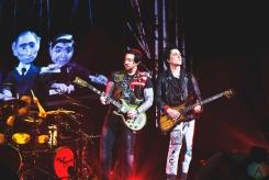 HAMILTON, ON - JANUARY 22: Avenged Sevenfold performs at FirstOntario Centre in Hamilton, Ontario on January 22, 2018. (Photo: Adam Harrison/Aesthetic Magazine)