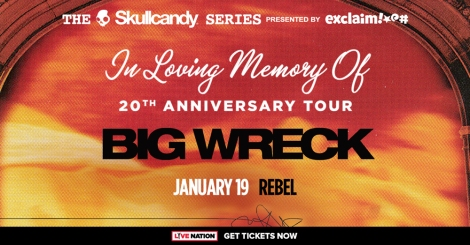 Contest: Win 2 Tickets to Big Wreck in Toronto!