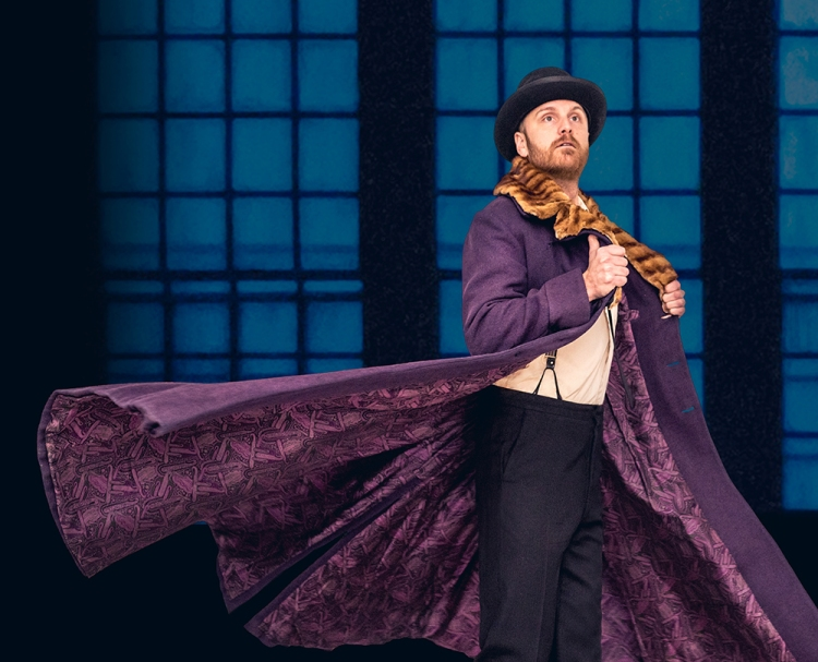 Geoffrey Sirett as Akakiy in 'The Overcoat A Musical Tailoring'. (Photo: Dahlia Katz)