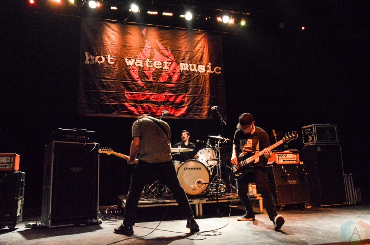 TORONTO, ON - JANUARY 27: Hot Water Music performs at Danforth Music Hall in Toronto on January 27, 2018. (Photo: Justin Roth/Aesthetic Magazine)