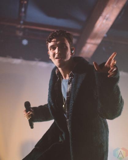 SEATTLE, WA - JANUARY 18: Lauv performs at The Crocodile in Seattle on January 18, 2018. (Photo: Nicolita Bradley/Aesthetic Magazine)