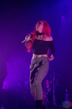 VANCOUVER, BC - JANUARY 30: Lights performs at Vogue Theatre in Vancouver on January 30, 2018. (Photo: Emily Chin/Aesthetic Magazine)