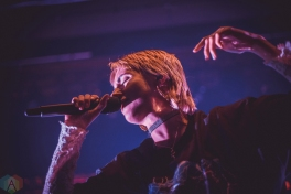 TORONTO, ON - JANUARY 29: MØ performs at Danforth Music Hall in Toronto on January 29, 2018. (Photo: Sarah McNeil/Aesthetic Magazine)