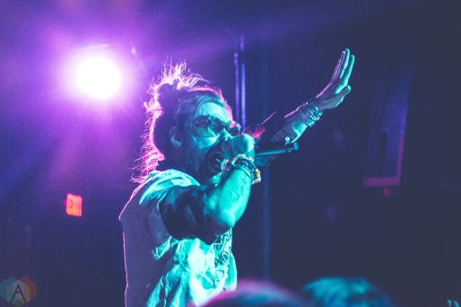 DETROIT, MI - JANUARY 28: Mod Sun performs at The Shelter in Detroit, Michigan on January 28, 2018. (Photo: Taylor Ohryn/Aesthetic Magazine)