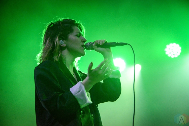 Brooklyn Ny January 23 Overcoats Performs At Brooklyn Steel In Brooklyn New York On January 23 2018 Photo Alex Bear Aesthetic Magazine Aesthetic Magazine Album Reviews Concert Photography Interviews Contests