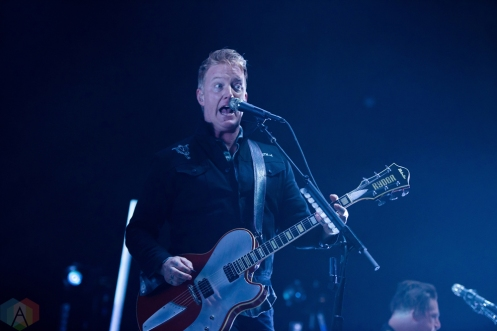VICTORIA, B.C - JANUARY 22: Queens of the Stone Age performs at Save-On-Foods Memorial Centre in Victoria, British Columbia on January 22, 2018. (Photo: Rob Porter/Aesthetic Magazine)