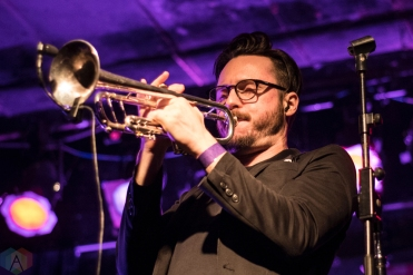TORONTO, ON - JANUARY 27: San Fermin performs at Lee's Palace in Toronto on January 27, 2018. (Photo: Morgan Hotston/Aesthetic Magazine)