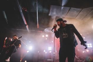 SACRAMENTO, CA - JANUARY 30: Silverstein performs at Ace of Spades in Sacramento, California on January 30, 2018. (Photo: Kyle Simmons/Aesthetic Magazine)