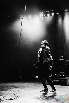 TORONTO, ON - JANUARY 26: Sleeping With Sirens performs at Danforth Music Hall in Toronto on January 26, 2018. (Photo: Francesca Ludikar/Aesthetic Magazine)