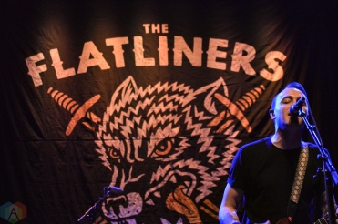 TORONTO, ON - JANUARY 27: The Flatliners perform at Danforth Music Hall in Toronto on January 27, 2018. (Photo: Justin Roth/Aesthetic Magazine)