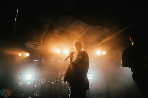 SACRAMENTO, CA - JANUARY 30: Tonight Alive performs at Ace of Spades in Sacramento, California on January 30, 2018. (Photo: Kyle Simmons/Aesthetic Magazine)