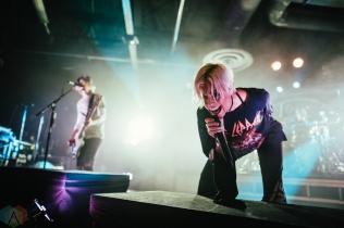 SACRAMENTO, CA - JANUARY 30: Tonight Alive performs at Ace of Spades in Sacramento, California on January 30, 2018. (Photo: Kyle Simmons/Aesthetic Magazine)