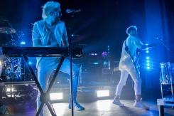 TORONTO, ON - JANUARY 16: Walk The Moon performs at Danforth Music Hall in Toronto on January 16, 2018. (Photo: Tyler Roberts/Aesthetic Magazine)