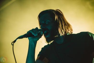 TORONTO, ON - FEBRUARY 10: Aaron Bruno of Awolnation performs at Phoenix Concert Theatre in Toronto on February 10, 2018. (Photo: Joanna Glezakos/Aesthetic Magazine)
