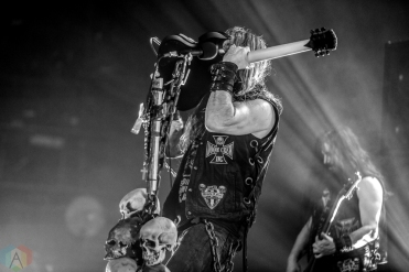 LOS ANGELES, CA - FEBRUARY 27: Black Label Society performs at Fonda Theatre in Los Angeles on February 27, 2018. (Photo: Melanie Escombe/Aesthetic Magazine)