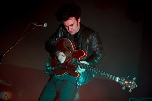 TORONTO, ON - FEBRUARY 06: Black Rebel Motorcycle Club performs at Rebel in Toronto on February 06, 2018. (Photo: Orest Dorosh/Aesthetic Magazine)