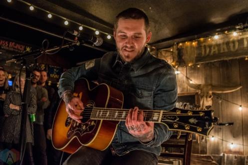 TORONTO, ON - FEBRUARY 07: Brian Fallon performs at Dakota Tavern in Toronto on February 07, 2018. (Photo: Tyler Roberts/Aesthetic Magazine)