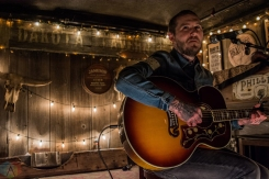 TORONTO, ON - FEBRUARY 07: Brian Fallon performs at Dakota Tavern in Toronto on February 07, 2018. (Photo: Tyler Roberts/Aesthetic Magazine)