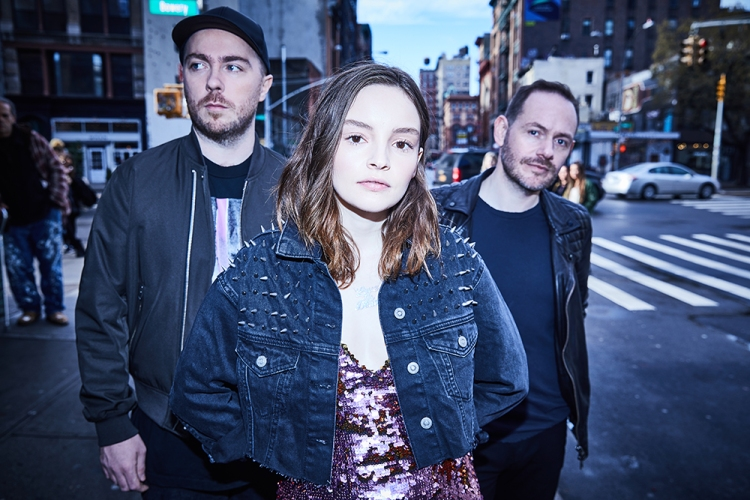 CHVRCHES. (Photo: Danny Clinch)