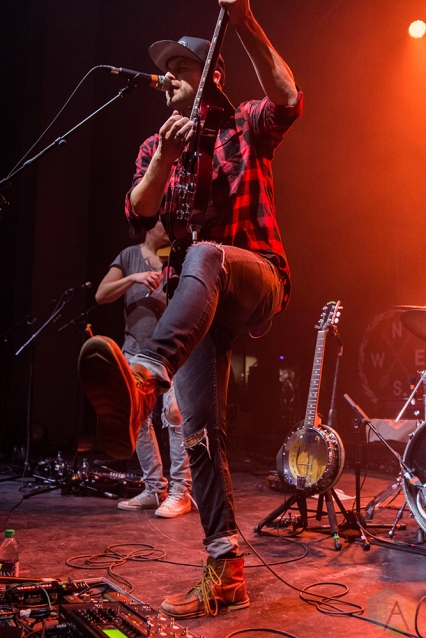 TORONTO, ON - FEBRUARY 17: Dan Davidson performs at Danforth Music Hall in Toronto on February 17, 2018. (Photo: Tyler Roberts/Aesthetic Magazine)