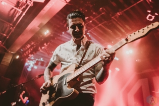 VANCOUVER, BC - FEBRUARY 21: Chris Carrabba of Dashboard Confessional performs at Commodore Ballroom in Vancouver on February 21, 2018. (Photo: Tim Nguyen/Aesthetic Magazine)