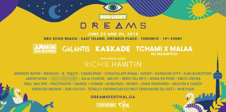 Dreams Festival 2018