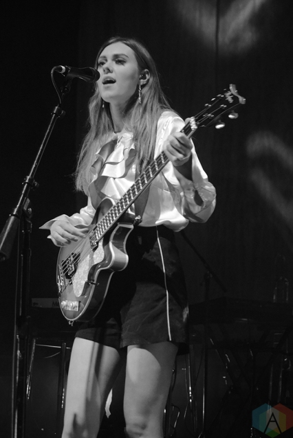 TORONTO, ON - FEBRUARY 06: First Aid Kit performs at Danforth Music Hall in Toronto on February 06, 2018. (Photo: Patrick Bales/Aesthetic Magazine)