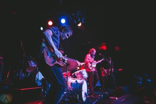 SEATTLE, WA - FEBRUARY 16: Heron Oblivion performs at The Showbox in Seattle on February 16, 2018. (Photo: Daniel Hager/Aesthetic Magazine)