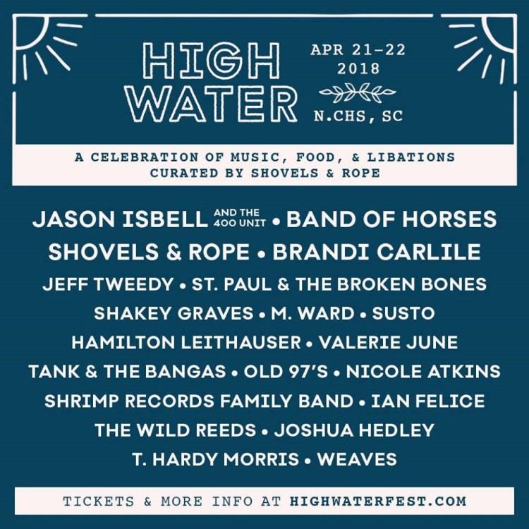 High Water Music Festival 2018