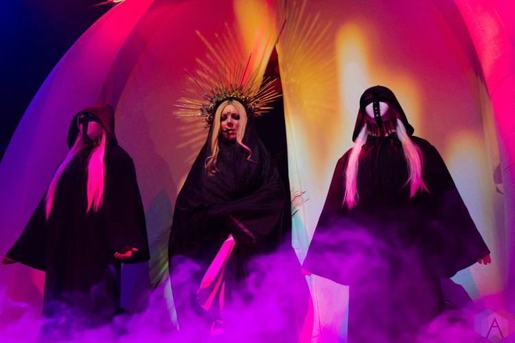 TORONTO, ON - FEBRUARY 14: In This Moment performs at Rebel in Toronto on February 14, 2018. (Photo: Tyler Roberts/Aesthetic Magazine)
