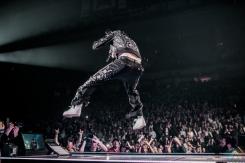 TORONTO, ON - FEBRUARY 16: Kid Rock performs at Air Canada Centre in Toronto on February 16, 2018. (Photo: Joanna Glezakos/Aesthetic Magazine)