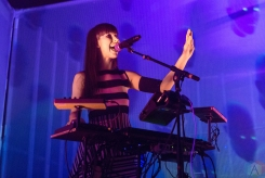 TORONTO, ON - FEBRUARY 2: Kimbra performs at The Mod Club in Toronto on February 2, 2018. (Photo: Katrina Lat/Aesthetic Magazine)