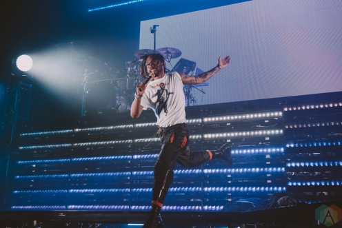 VANCOUVER, BC - FEBRUARY 24: Miguel performs at PNE Forum in Vancouver on February 24, 2018. (Photo: Tim Nguyen/Aesthetic Magazine)