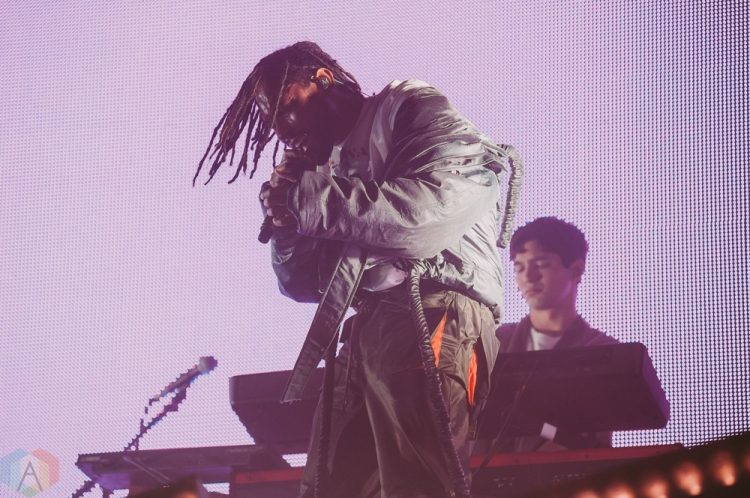 VANCOUVER, BC – FEBRUARY 24: Miguel performs at PNE Forum in