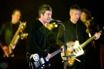 TORONTO, ON - FEBRUARY 20: Noel Gallagher performs at Sony Centre in Toronto on February 20, 2018. (Photo: Julian Avram/Aesthetic Magazine)