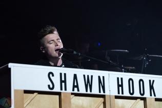 CALGARY, AB - FEBRUARY 12: Shawn Hook performs at Stampede Corral in Calgary on February 12, 2018. (Photo: Adriana Malinowska/Aesthetic Magazine)