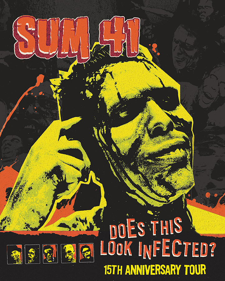 "Sum 41 - ""Does This Look Infected"" Tour"