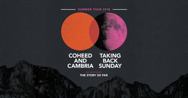 Taking Back Sunday & Coheed And Cambria 2018 Tour