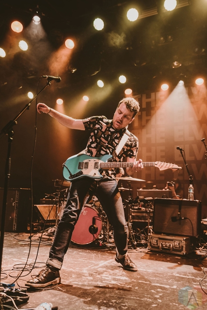 VANCOUVER, BC - FEBRUARY 21: The Elwins perform at Commodore Ballroom in Vancouver on February 21, 2018. (Photo: Tim Nguyen/Aesthetic Magazine)