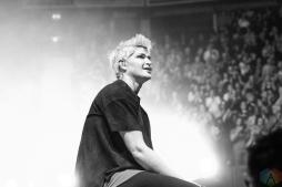 MANCHESTER, UK - FEBRUARY 03: The Script performs at Manchester Arena in Manchester, UK on February 03, 2018. (Photo: Priti Shikotra/Aesthetic Magazine)