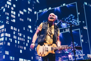 MANCHESTER, UK - FEBRUARY 03: The Script performs at Manchester Arena in Manchester, UK on February 03, 2018. (Photo: Priti Shikotra/Aesthetic Magazine)