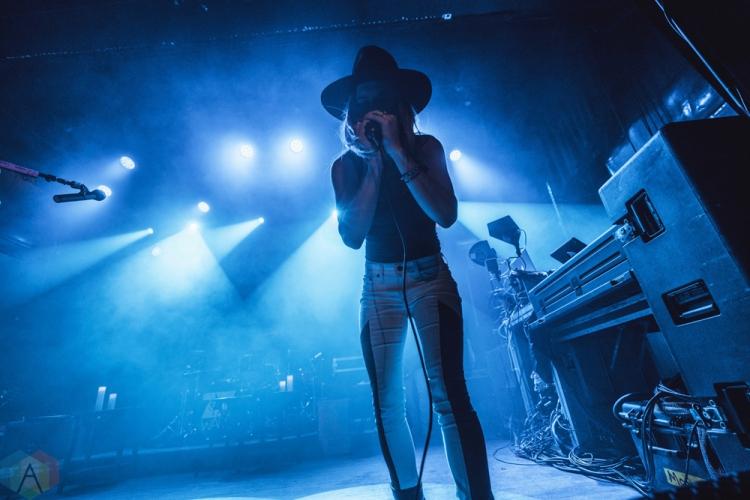 TORONTO, ON - FEBRUARY 21: ZZ Ward performs at Mod Club in Toronto on February 21, 2018. (Photo: Nicole De Khors/Aesthetic Magazine)