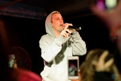 PONTIAC, MI - MARCH 10: Aaron Carter performs at The Crofoot Ballroom in Pontiac, Michigan on March 10, 2018. (Photo: Jennifer Boris/Aesthetic Magazine)